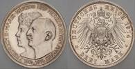 3 Mark 1914 A Anhalt Friedrich II. 1904-19...