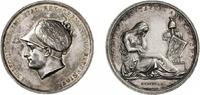 Silbermedaille 1805 NAPOLEON UND SEINE ZEI...