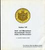 Auktionskatalog 149 1998 Frankfurter Münzh...
