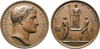 Bronzemedaille 1804 NAPOLEON UND SEINE ZEI...