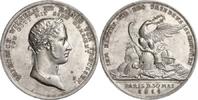 Silbermedaille 1814 NAPOLEON UND SEINE ZEI...
