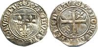 1/2 Blanc Guénar 1380-1422 Frankreich Karl...
