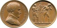 Bronzemedaille 1814 NAPOLEON UND SEINE ZEI...