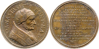 Bronzemedaille o. J. Vatikan Papst Anastas...