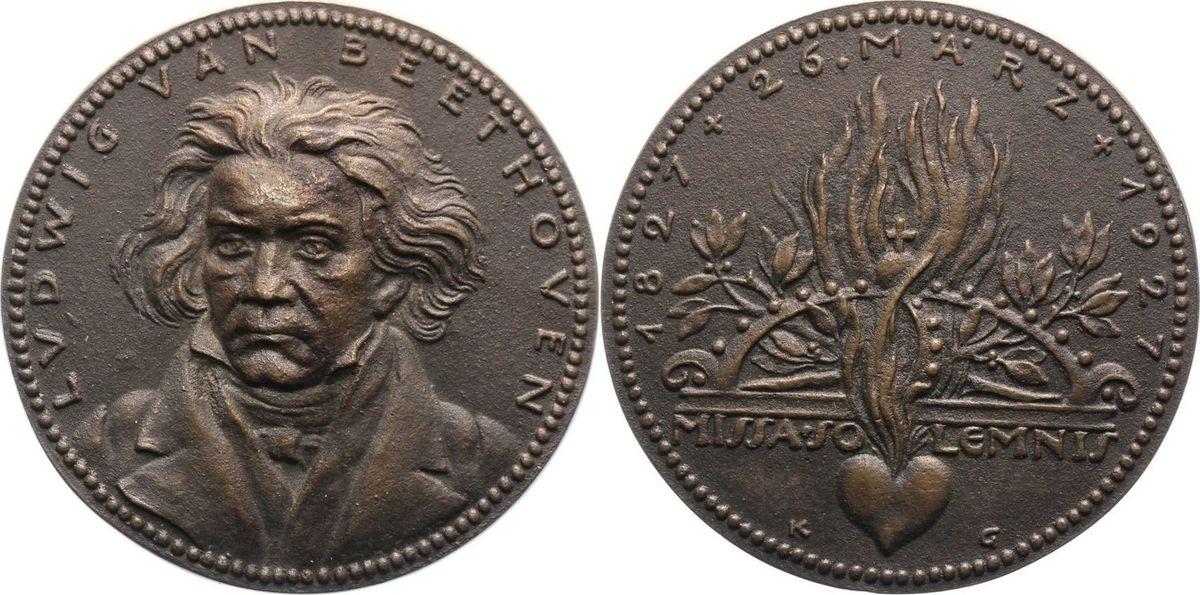 bronzegussmedaille 1927 m nchener medailleure goetz karl etwas gr berer guss vf ef ma shops. Black Bedroom Furniture Sets. Home Design Ideas