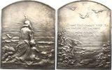Silberplakette  Kunstmedaillen Dupré, Geor...