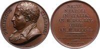 Bronzemedaille 1818 Musiker Cimarosa, Dome...