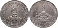 Versilberte Bronzemedaille 1871 Brandenbur...