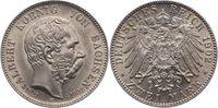 2 Mark 1902  E Sachsen Albert 1873-1902. V...