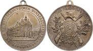 Versilberte Bronzemedaille 1891 Erfurt-Sta...