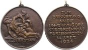 Bronzegussmedaille 1924 Münchener Medaille...