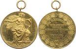 vergoldete Bronzemedaille 1900 Schweiz-Zür...