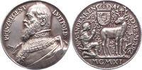 Silbergussmedaille 1911 Münchener Medaille...