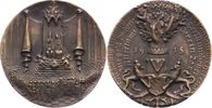 Bronzegussmedaille 1918 Münchener Medaille...