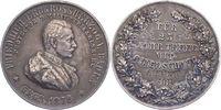Silbermedaille 1872 Baden-Durlach Friedric...