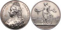Silbermedaille 1897 Großbritannien Victori...