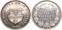 Silbermedaille 1895 Konstanz-Stadt  Winz. ...