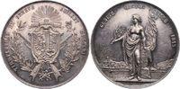 Silbermedaille 1851 Schweiz-Genf, Stadt  K...