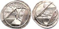 Silbermedaille 1999 Speyer-Stadt  Prägefrisch