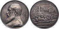 Silbermedaille 1901 Baden-Durlach Friedric...