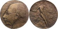 Bronzegussmedaille 1964 Musiker Strawinsky...