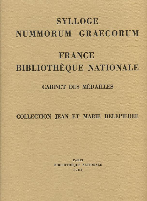 1983 sylloge nummorum graecorum sng france
