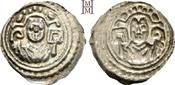 Brakteat 1190 Konstanz, Bistum Diethelm von Krenkingen 1190-1206. Leicht dezentriert, fast vorzüglich