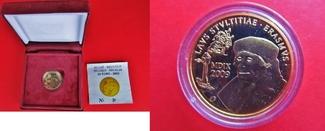 50 Euro 2009 Belgien 50 € Gold - Erasmus von Rotterdam - Lob der Torheit PP im Etui + Zertifikat