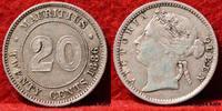 20 Cents 1886 Mauritius Königin Victoria 1...