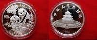 50 Yuan 1992 China Silber - Panda - Silber...