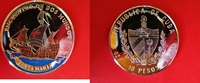 10 Pesos 2001 Kuba Silber - Silberunze - F...