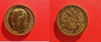 5 Rubel 1904 Russland Gold - Zar  Nikolaus...