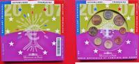 Euro KMS 2007 Frankreich € Kursmünzensatz ...