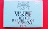 KMS 1976 Botswana der Royal Mint - Proof-S...