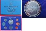 KMS 1982 Falkland Inseln Royal Mint - Proo...
