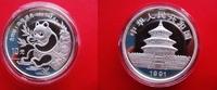 10 Yuan 1991 China Silber - Panda - Silber...