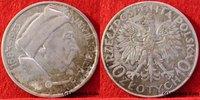 10 Zlotych 1933 Polen Jan III. Sobieski, 1...