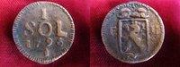1 Sol 1795 RDR / Luxemburg Franz II. von H...