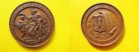 Medaille 1869 Hamburg Bronze, Bronzemedail...