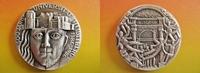 Heidelberg Silbermedaille von Kauko Räsänen - Finnland - 600 Jahrfeier Universität Heidelberg - selten!!