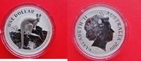 1 Dollar 2010 Australien Silberunze - Käng...