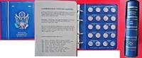 Sammlung, 106 Münzen 1999-2009 USA aller 5...