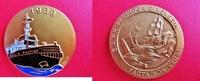 Goldmedaille 1969 Schiffe / Italien / Vene...