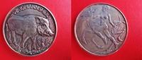 Silbermedaille o.J. Medaillen / Jagd Medai...