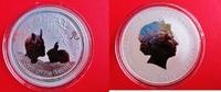 1 Dollar 2011 Australien 1 Silberunze - Lu...