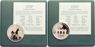 200 Zloty 2008 Polen Republik seit 1990. Gold, Polierte Platte