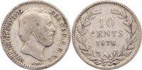 10 Cent 1878 Niederlande-Königreich Wilhelm III. 1849-1890. fast sehr s... 15,00 EUR  +  1,50 EUR shipping
