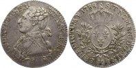 1/5 Écu 1 1788  H Frankreich Ludwig XVI. 1774-1793. leicht justiert, se... 170,00 EUR  +  4,50 EUR shipping