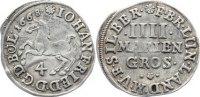 4 Mariengroschen 1668 Braunschweig-Calenberg-Hannover, ab 1692 Kftm. Ha... 30,00 EUR  +  4,50 EUR shipping