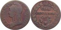 5 Centimes  1793-1799 Frankreich Erste Republik 1793-1799. fast sehr sc... 40,00 EUR  +  4,50 EUR shipping